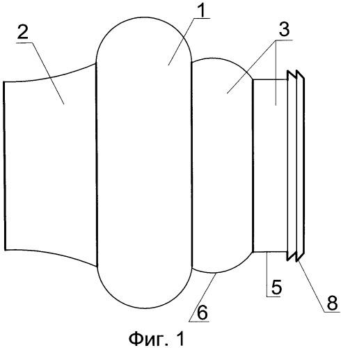 Сопло-насадка для жидкостей и газов (два варианта)