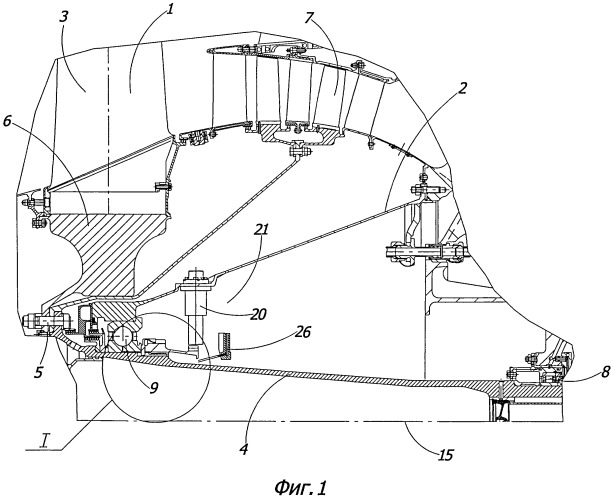 Вентилятор газотурбинного двигателя