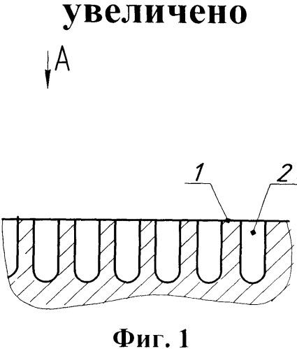 Теплообменная металлическая поверхность и двухтактный двигатель внутреннего сгорания с теплообменной металлической поверхностью (варианты).