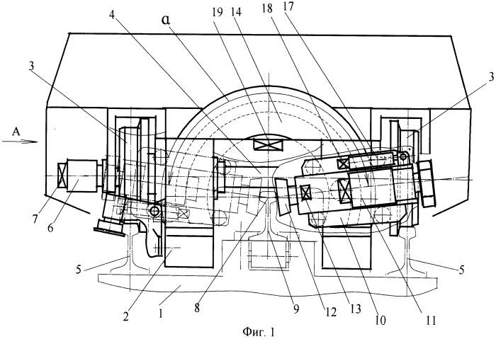 Устройство для шлифовки головки рельса