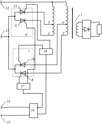 Устройство переключения отводов обмотки трансформатора