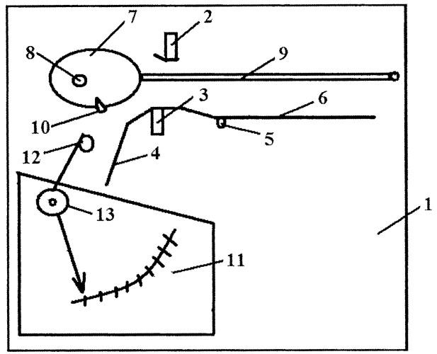 Устройство для тестирования мышц по методу омуры