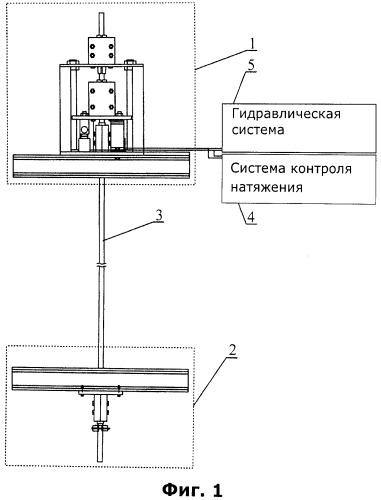 Устройство и способ автоматической регулировки натяжения гибкой направляющей шахтного подъемника