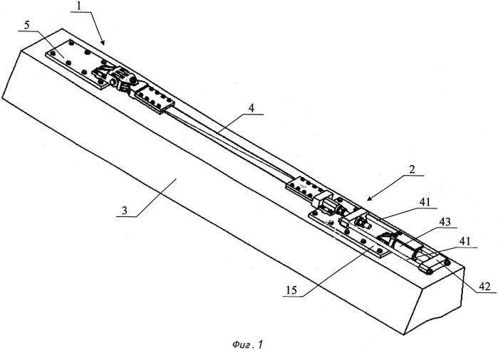 Устройство для усиления строительных конструкций с помощью композиционной напрягаемой арматуры