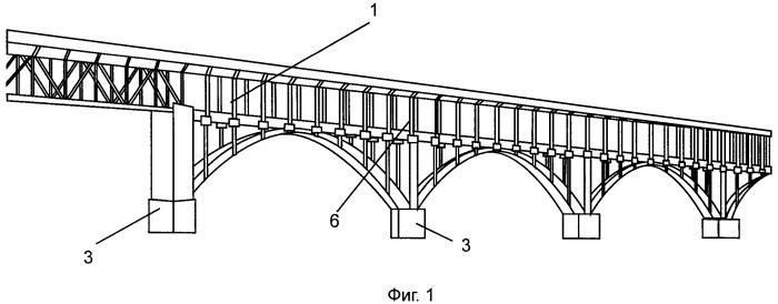 Способ уширения мостового сооружения с использованием вантовой системы