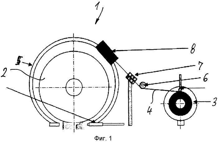 Обвязывающий автомат для обвязки упаковочных единиц, в частности, смотанных в рулоны металлических лент
