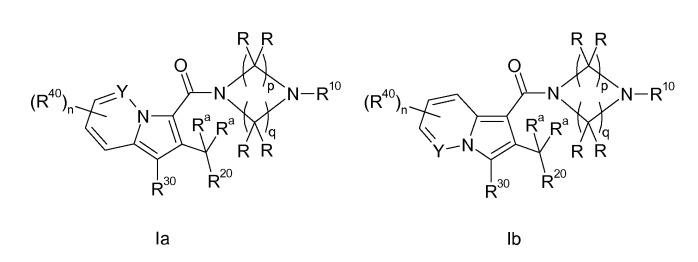 Циклические (аза) индолизинкарбоксамиды, их получение и их примнение в качестве фармацевтических средств