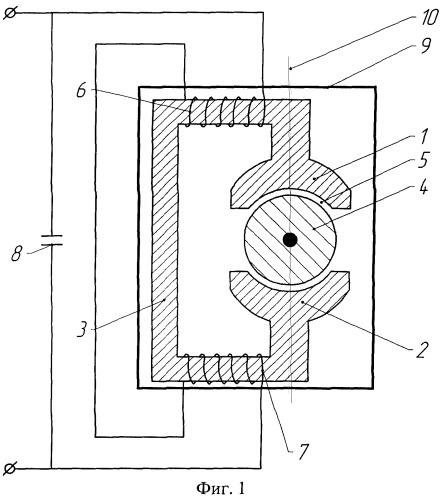 Электродвигатель асинхронный с высоким к.п.д.