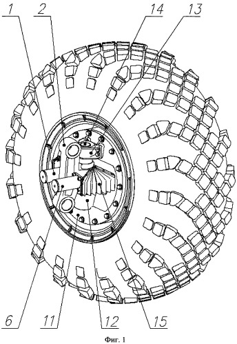 Рулевой привод поровота колеса