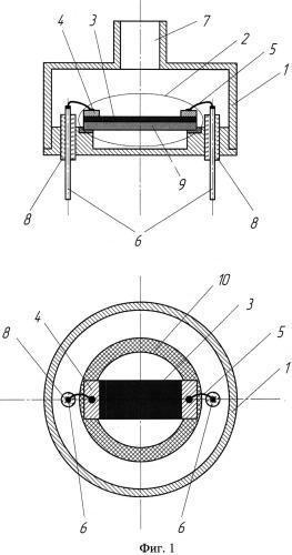 Способ изготовления наноструктурированного чувствительного элемента датчика вакуума и датчик вакуума