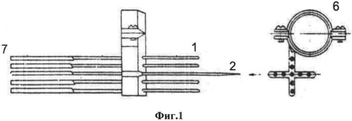Способ измерения параметров потока на выходе из протоков моделей ла