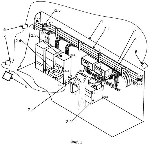 Способ определения пространственного распределения напряженности электромагнитного поля