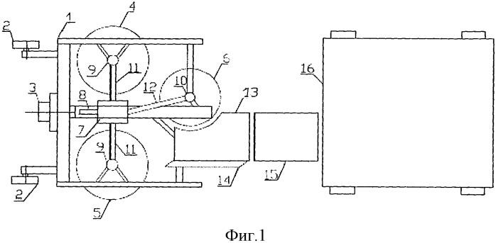 Комбинированный агрегат для полного цикла сбора отводков маточного корня