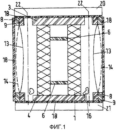 Транспортный корпус для катушки или блока катушки