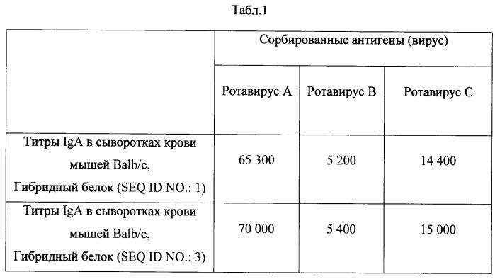 Вакцина для профилактики и лечения ротавирусной инфекции, содержащая гибридный белок в качестве активного агента (варианты)