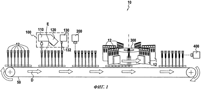 Устройство для заполнения гелевой карты, содержащее ионизатор