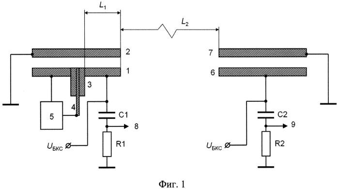 Способ определения стойкости к дугообразованию элементов радиоэлектронной аппаратуры космических аппаратов