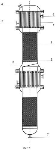 Реактор со стационарным слоем катализатора