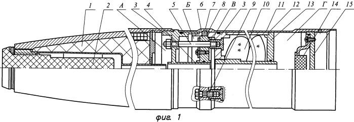 Система разделения и стабилизации головной части