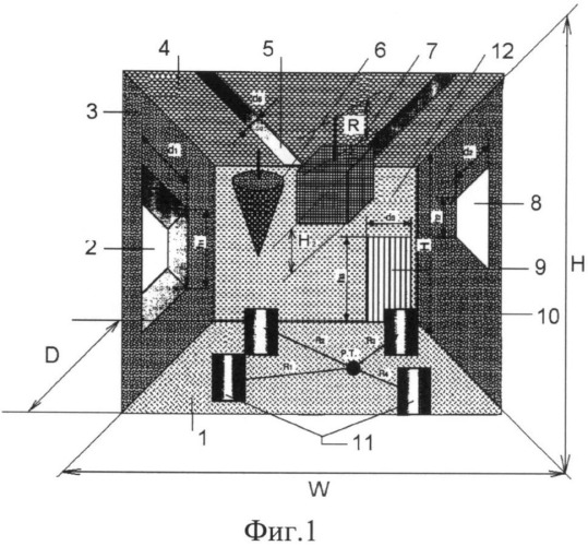 Звукопоглощающая конструкция производственного здания