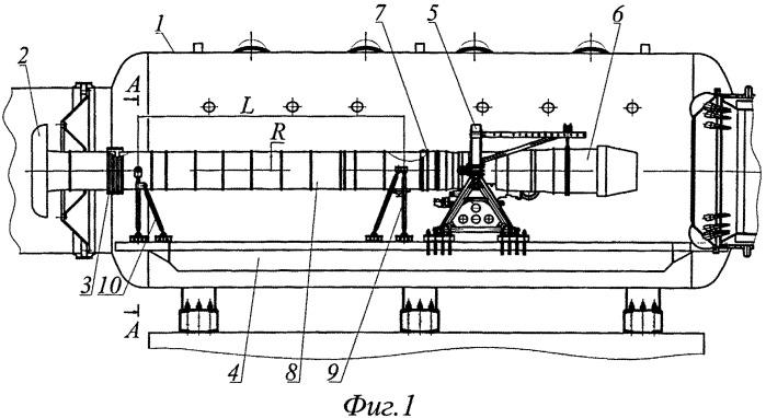 Стенд для испытания авиационных двигателей