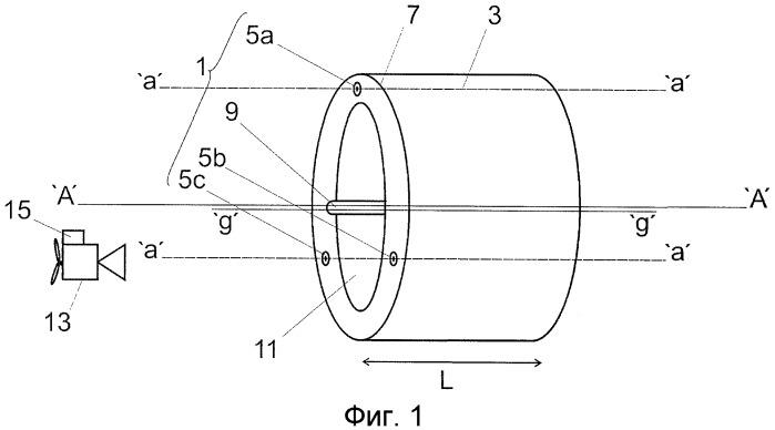 Устройство для измерения деформаций и способ измерения деформаций