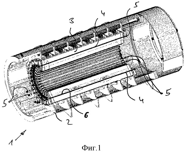 Составные сквозные шпильки сердечника статора