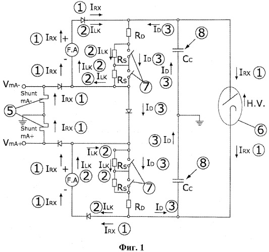 Разрядный модуль для высоковольтных рентгеновских трубок