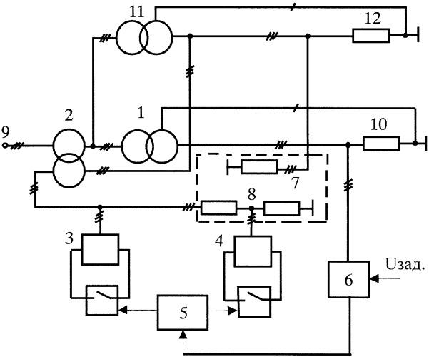 Стабилизатор напряжения трансформаторных подстанций предприятия