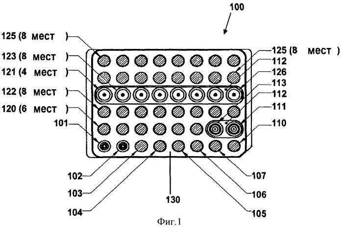 Патрон для автоматического обнаружения аналита в пробе телесной жидкости и содержащая его система