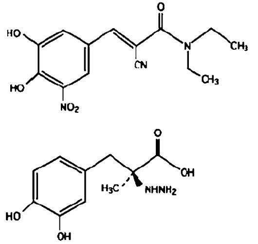 Фармацевтическая композиция энтакапона или его солей пролонгрированного высвобождения
