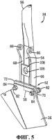 Устройство для установки скребкового узла на вспомогательной опоре дискового рыхлителя, которое допускает отклонение скребкового узла