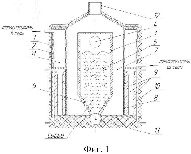 Когенерационная энергоустановка с топливным элементом на основе внутрицикловой конверсии органического сырья