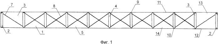 Конструкция предварительно напряженной балки