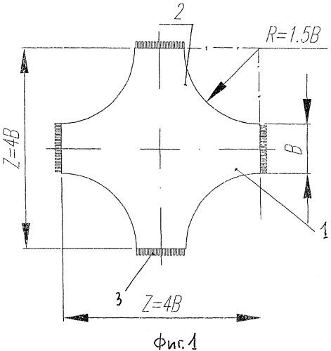 Железобетонная плита для возведения незаглубляемых фундаментов
