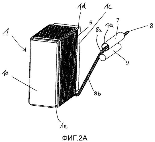 Способ намотки, в частности, для изготовления электрической катушки