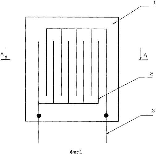 Датчик для контроля процесса пропитки наполнителя полимерным связующим