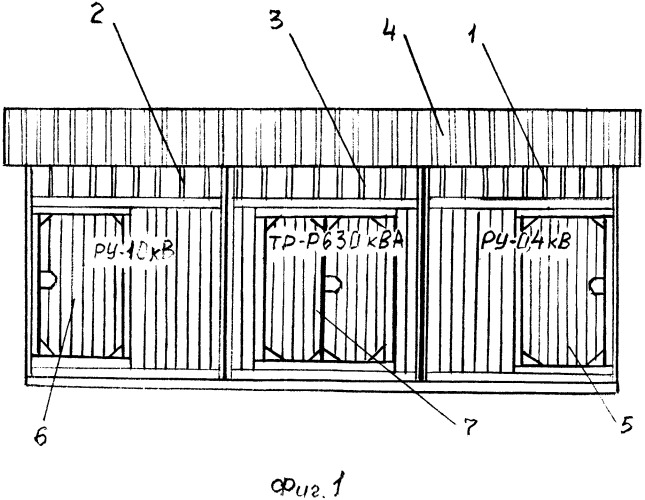 Комплектная трансформаторная подстанция многоблочная