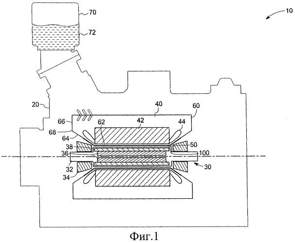 Двигатель, содержащий герметичный уплотнительный узел (варианты), и установка, содержащая двигатель