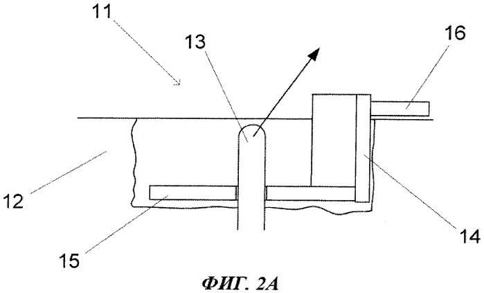 Способ закрепления подъемной петли на бетонном элементе, полученном способом литья в скользящую опалубку, и опора для подъемной петли