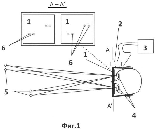 Способ защиты глаз водителя при ослеплении светом фар встречного транспортного средства
