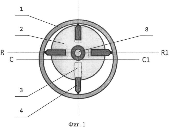 Роторно-пластинчатое устройство