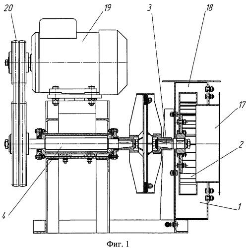 Вентилятор для перемещения горячих газов