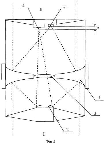 Двухканальный космический телескоп для одновременного наблюдения земли и звезд (варианты)
