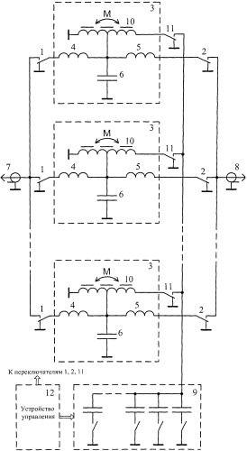 Фильтр гармоник коротковолнового передатчика