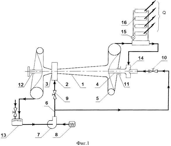 Гидравлический теплогенератор и устройство нагрева жидкости