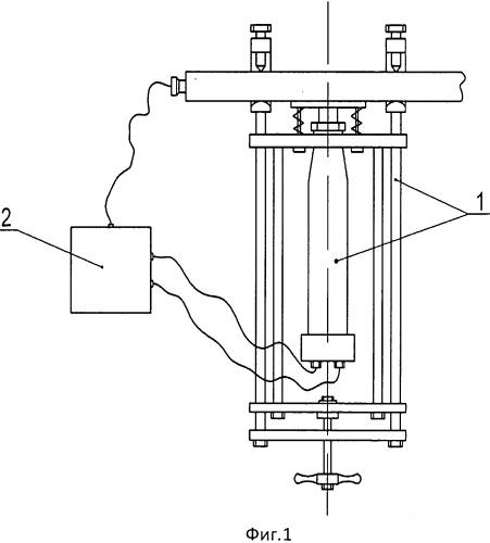 Устройство для измерения внутренних локальных механических напряжений в стальных конструкциях