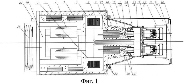 Блок излучателя нейтронов