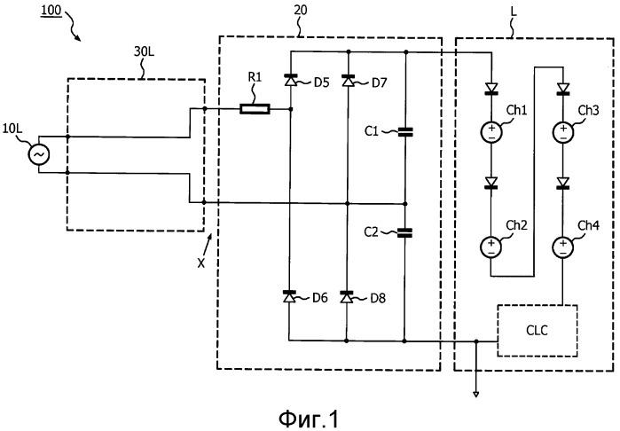 Система электропитания для электронных нагрузок