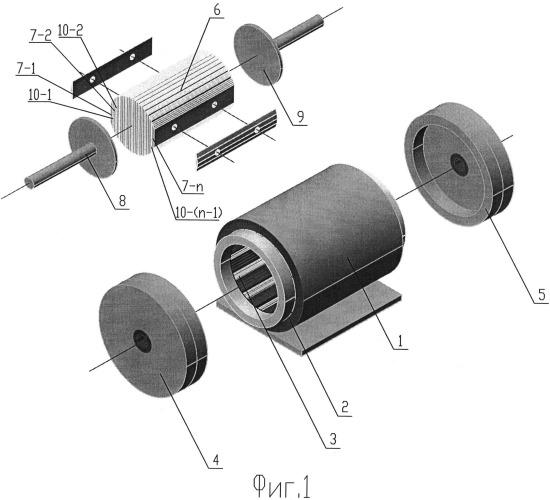 Синхронная машина с анизотропной магнитной проводимостью ротора